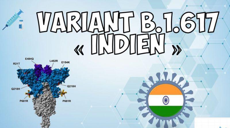 Actualización sobre la variante india B.1.617